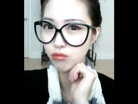Korean Ulzzang 얼짱 Eyeglass Makeup Tutorial