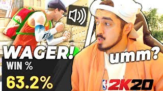 63% Win Guard fully believes he can beat me in a wager (NBA 2K20)