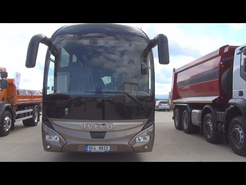 Iveco Magelys Euro 6 Bus (2016) Exterior and Interior in 3D