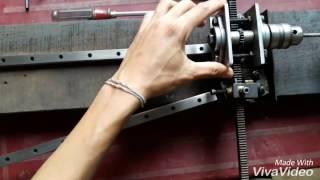 Rifling machine homemade(2)