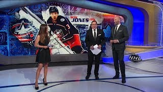 NHL Now:  Jones` OT winner:  The NHL Now crew analyzes Seth Jones` overtime goal  Dec 7,  2018