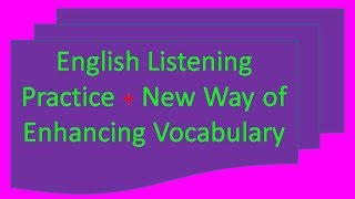 English Listening practice through story - great warrior_Learn Vocabulary also