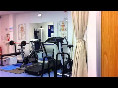 Pulse Sports Therapy Topnotch clinic and rehabilitation area