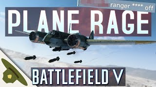Battlefield 5: Just PLANE RAGE from salty players in the chat!