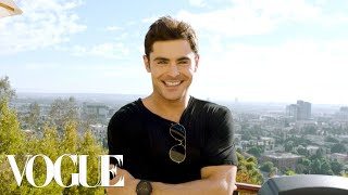 73 Questions With Zac Efron | Vogue