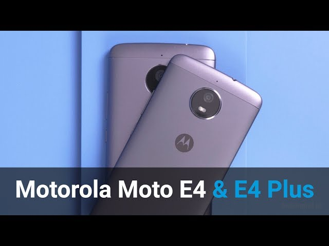 Belsimpel.nl-productvideo voor de Motorola Moto E4 Plus Single Sim