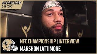 Marshon Lattimore Talks Rams High Tempo, Relying on Technique | New Orleans Saints