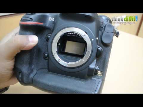 Nikon D4 Hands On Video