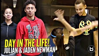 Julian & Jaden Newman: A Day In The Life!! Julian Addresses