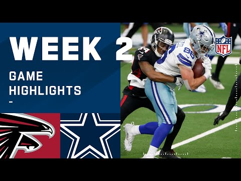 Falcons vs. Cowboys Week 2 Highlights | NFL 2020