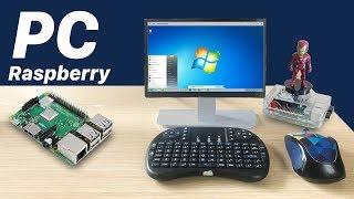 Làm Máy Tính PC Với Raspberry Pi 3 như thế nào? Chạy UBUNTU | How to Make Mini PC - Computer mini
