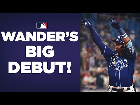 Wander does it all in debut! No. 1 prospect Wander Franco hits homer, double in first game!