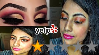 I WENT TO THE WORST REVIEWED MAKEUP ARTIST IN LA!!!!!!!