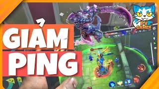 Hướng dẫn chi tiết cách giảm PING liên quân mobile - Crossfire legend | PV Gamer