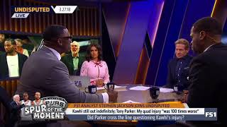 Joy Taylor gets mad at Shannon Sharpe