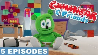 Gummy Bear Show Seventh 5 Episodes - Unboxing the Unicorn Surprise, The Violin, Imaginary Friend