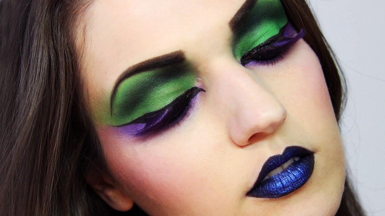 Extreme Makeup Creative Editorial Look Youtube