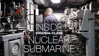 A Rare Look Inside US Navy Nuclear Submarine USS Texas