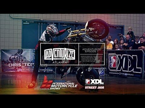 Adventurize ep. 1 International Motorcycle Shows Atlanta
