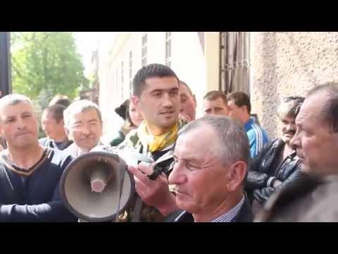 Правий сектор перестав відвідувати пікети СБУ в Чернівцях