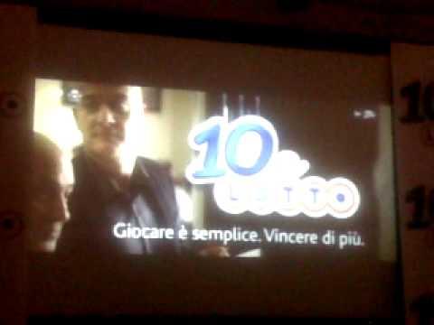 Claudio Bisio: in anteprima nuovo spot 10eLotto