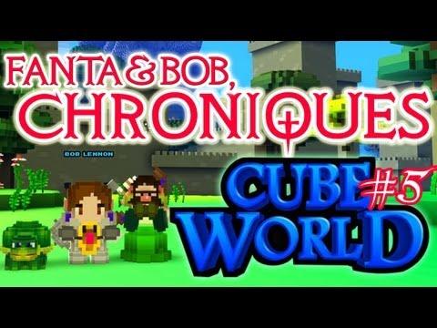 fanta et bob, les chroniques de cube world - ep.5