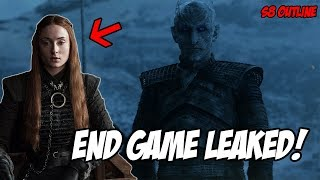 End Game LEAKED Plot! Game Of Thrones Season 8 (Leaked Scenes)