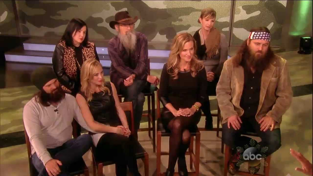 duck dynasty cast talks sex appeal becoming reality
