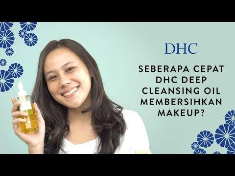 Seberapa Cepat DHC Deep Cleansing Oil Membersihkan Makeup?