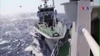 Cận cảnh tàu TQ tấn công tàu cảnh sát biển VN tại Hoàng Sa