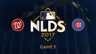 10/9/17: Rizzo's clutch hit lifts Cubs to Game 3 win