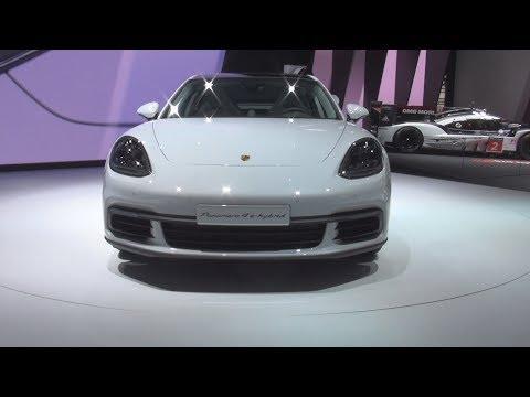 @Porsche Panamera 4 E-Hybrid (2017) Exterior and Interior in 3D