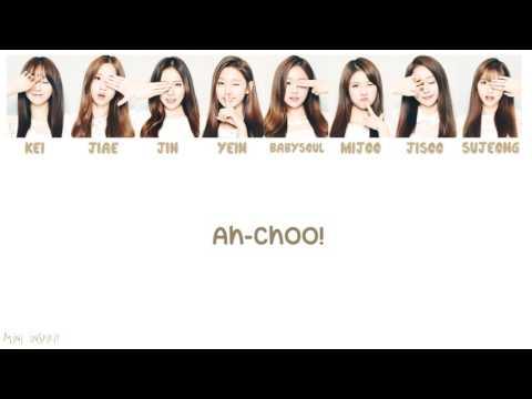 Lovelyz 러블리즈 - Ah-Choo 아츄 Lyrics [ Romanization / Hangul / Translation ]