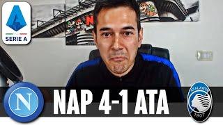 GATTUSO È TROPPO INTELLIGENTE! ABOMINIO ATALANTA   Napoli-Atalanta 4-1 Serie A