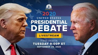 President Trump and former VP Biden face off in first presidential debate — 9/29/2020
