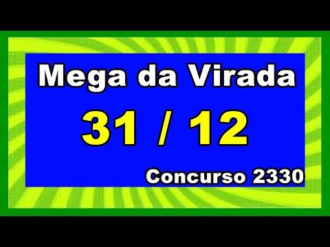 Mega da Virada Resultado– Resultado da Mega Sena Concurso 2330
