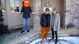 CONFRONTING A HATER AT HIS HOUSE (crazy)