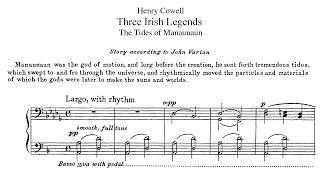 Henry Cowell - Three Irish Legends (1922)