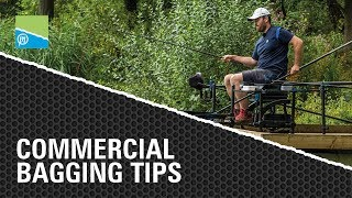 Video thumbnail for COMMERCIAL BAGGING TIPS Preston Innovations Match Fishing Videos