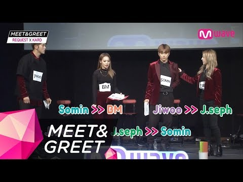 [MEET&GREET] KARD's Rappers Singing & Vocalists Rapping (Part Switch)