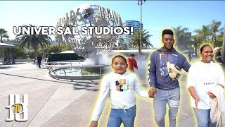 JuJu Takes his Family To Universal Studios! // JuJu Smith-Schuster Vlog