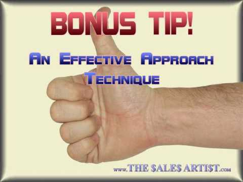 Sales Training Video - Sales Tip: How To Approach A Prospect