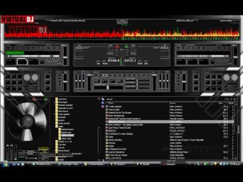 mezcla de salsa en virtual dj