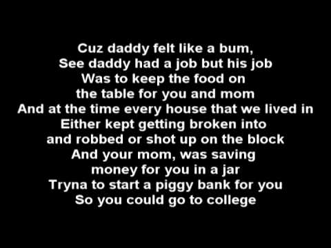Baixar Eminem - Mockingbird [Karaoke/Instrumental] + Lyrics
