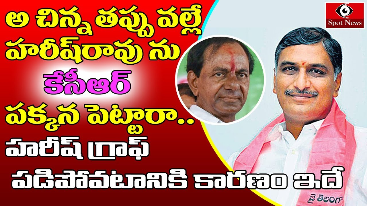 This Is Why Harish Rao Being Avoided By TRS Party