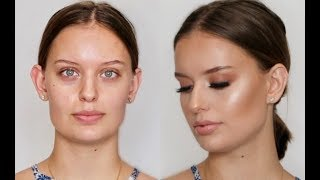 How To Do Makeup On a Client| Sophia Perez