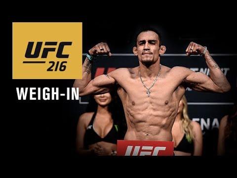 Oficjalne ważenie przed UFC 216 – na żywo w MMAnews od 02:00 w nocy