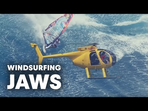 Windsurfing Jaws - The mother of all waves Jason Polakow