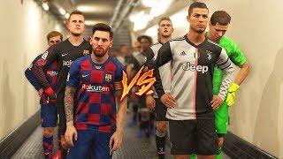 JUVENTUS 2020 VS FC BARCELONA 2020 | RONALDO VS MESSI