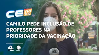 COVID-19: Camilo pede inclusão de professores na prioridade da vacinação
